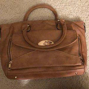 Miztigue  Women  tote bag  Color:light brown
